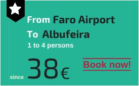 Faro Airport to Albufeira
