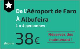 Aéroport de Faro à Albufeira