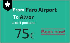 Faro Airport to Alvor