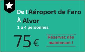 Aéroport de Faro à Alvor