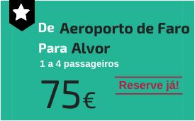 Aeroporto de Faro para Alvor