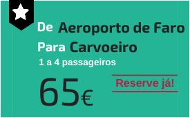 Aeroporto de Faro para Carvoeiro