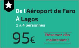 Aéroport de Faro à Lagos