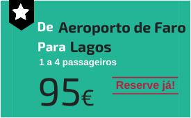 Aeroporto de Faro para Lagos