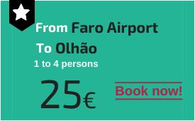 Faro Airport to Olhão