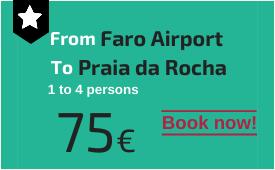 Faro Airport to Praia da Rocha