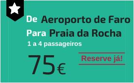 Aeroporto de Faro para Praia da Rocha