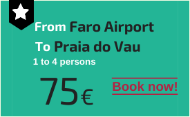 Faro Airport to Praia do Vau