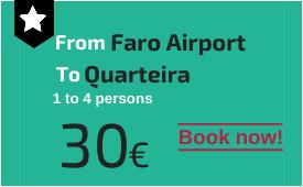 Faro Airport to Quarteira