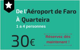 Aéroport de Faro à Quarteira