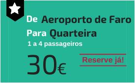 Aeroporto de Faro para Quarteira