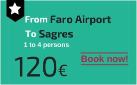 Faro Airport to Sagres