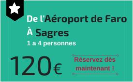 Aéroport de Faro à Sagres