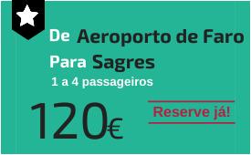 Aeroporto de Faro para Sagres