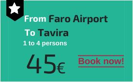 Faro Airport to Tavira