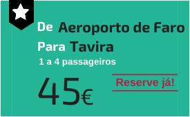 Aeroporto de Faro para Tavira