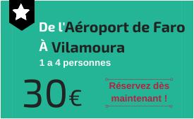 Aéroport de Faro à Vilamoura