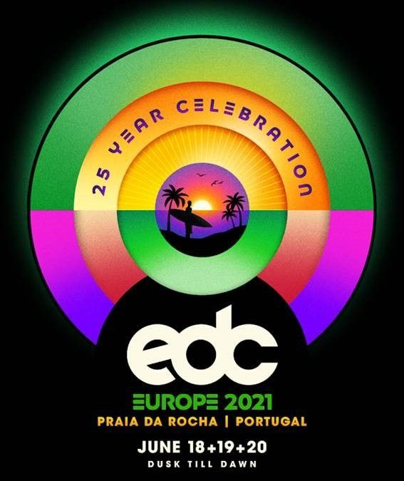 Praia da Rocha will host the Electric Daisy Carnival 2021
